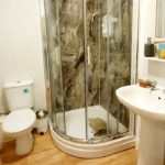double room with ensuite shower and toilet